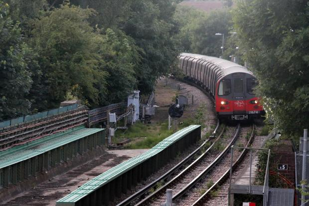 Transport for London says there will be no services to Mill Hill East during the walk out