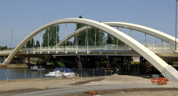 Simply the best: Walton Bridge was named as the best project in the Thames Valley