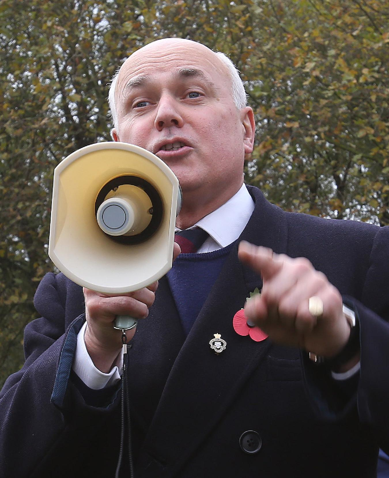 Iain Duncan Smith is spearheading government welfare reforms