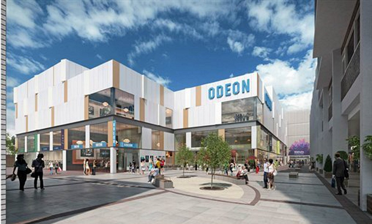 Work begins on Orpington's new cinema and leisure complex