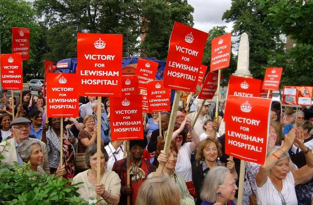 This Is Local London: Lewisham Hospital campaigners