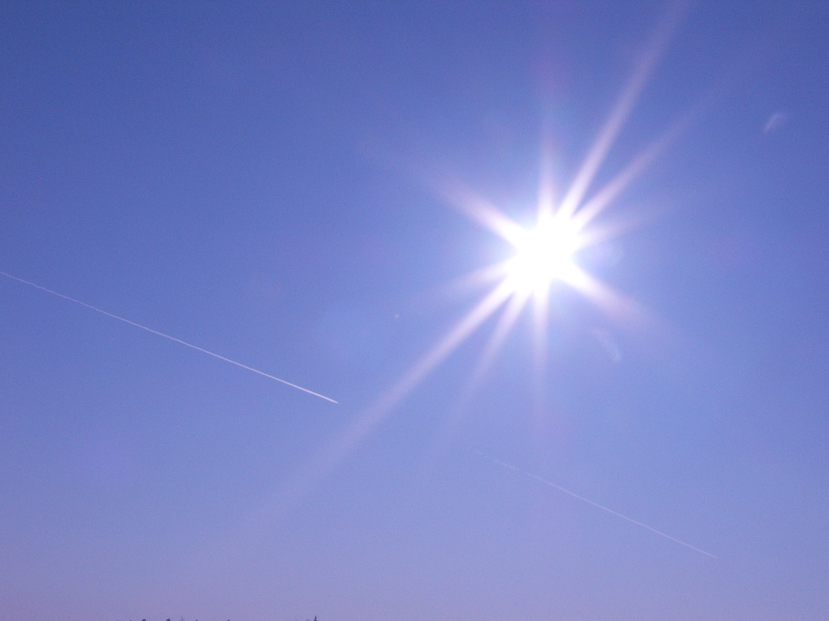 The lesser-spotted Sun is in the sky over large parts of the country today