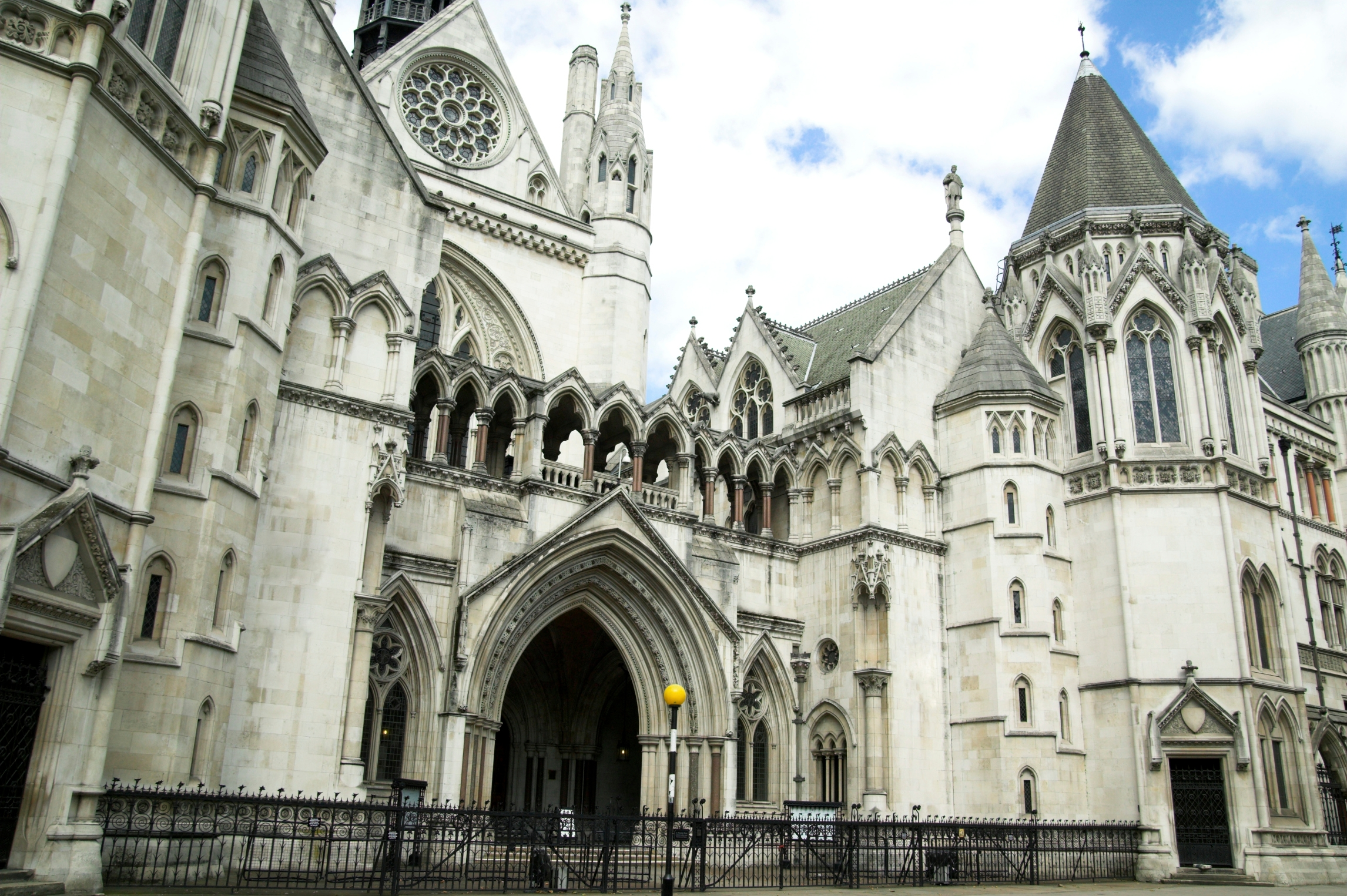 Royal Courts of Justice where the inquest was held