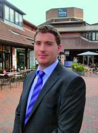 Epsom's business development manager Adam Worley