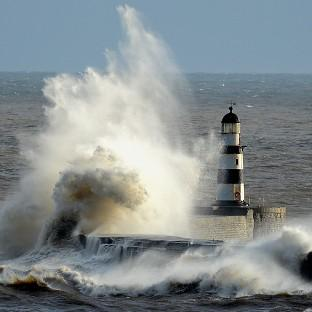 Gusts close to 70mph will hit areas of Scotland and Northern Ireland