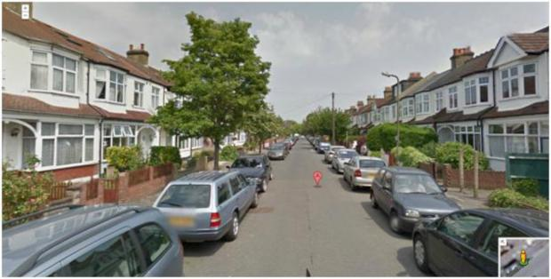 Abbott Avenue in Raynes Park. Picture: Google