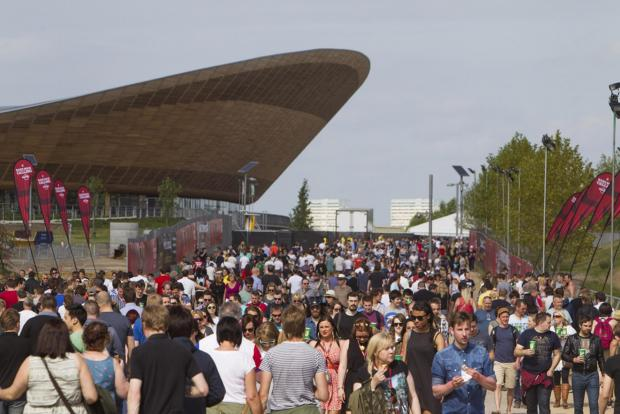 A fan park will be set up next to the Queen Elizabeth Olympic Park in Stratford