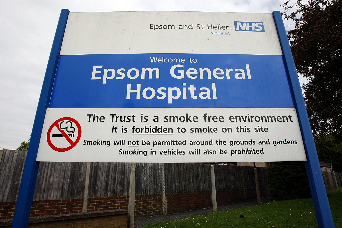 Epsom Hospital was in talks to merge with Ashford and St Peter's hospital trust in 2012