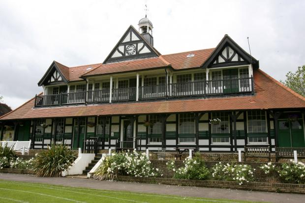 Leyton Cricket Ground pavillion