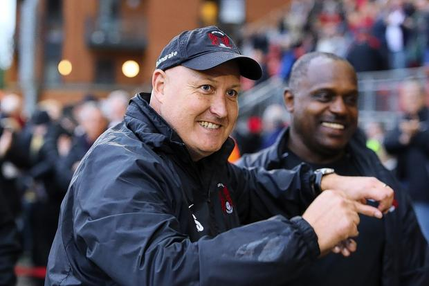 This Is Local London: Russell Slade has described these as special times at Brisbane Road: Simon O'Connor