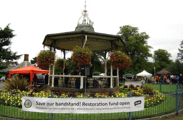 This Is Local London: The restoration of the bandstand will be discussed at next week's Friends of Croydon Road Recreation Ground meeting