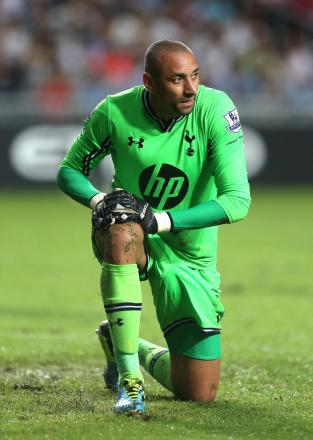 Heurelho Gomes last appeared for Spurs in November 2011. Picture: Action Images