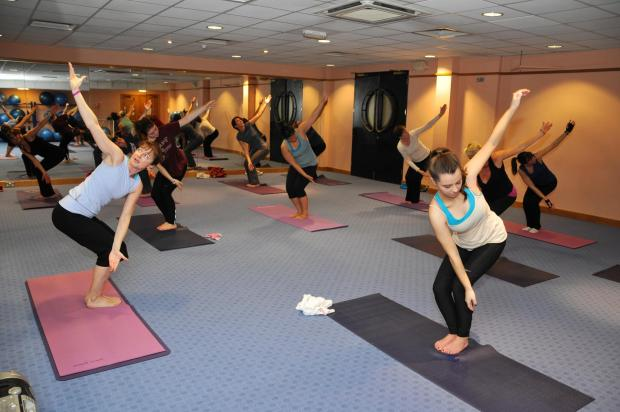 This Is Local London: Freestyle fitness yoga