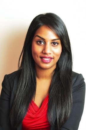 Labour party candidate for Harrow East Uma Kumaran