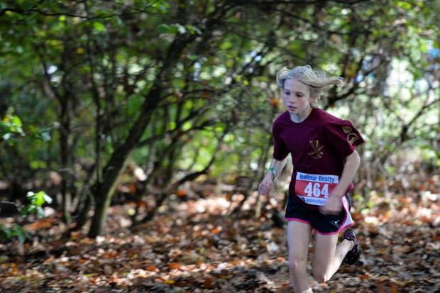 Winner: Herne Hill Harriers Alex Brown led the club's charge by winning the U13s competition