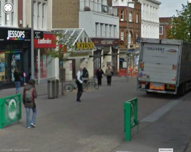This Is Local London: Morrison's supermarket in Sutton High Street (Picture: Google)