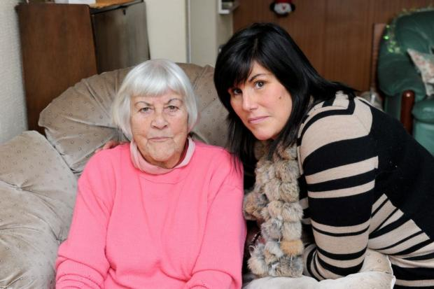 Marie Wand and daughter Sacha want your help in finding the lost car in time for Christmas.
