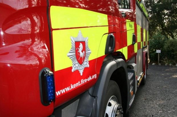 Paper mill in Northfleet catches fire