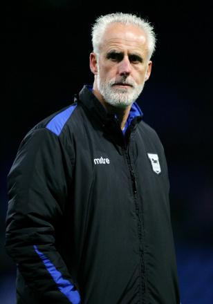 Ipswich boss Mick McCarthy has dragged Town up the table. Picture: Action Images