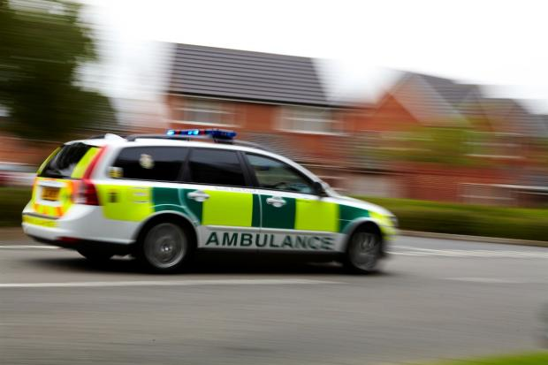 South East Coast Ambulance Service attended the scene