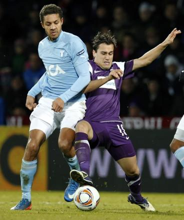 The form of Mathias Ranegie (left) at Malmo earned him a move to the Serie A in 2012. Picture: Action Images