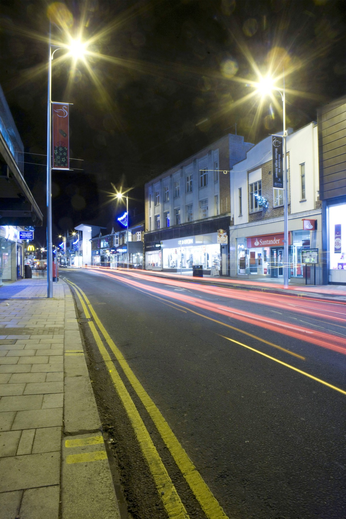 Walton High Street: Scene of the fight