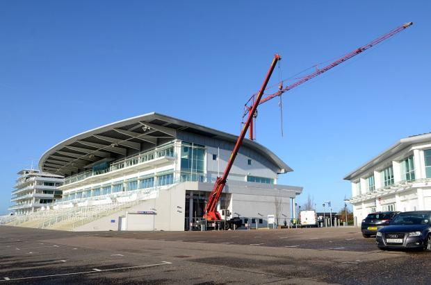 The roof of the Duchess's stand at Epsom Downs Racecourse has been seriously damaged twice in two years in high winds