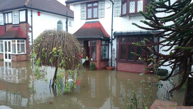 This Is Local London: Around 23 homes on Westhorne Avenue were flooded