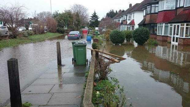 This Is Local London: PICTURED: Devastating Eltham floods ruin around 23 homes with families forced to move