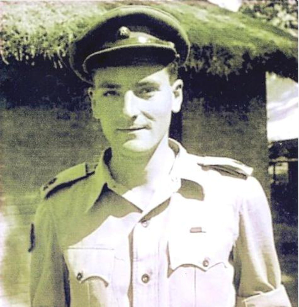 Major Bill Towill in the Burmese jungle aged 23
