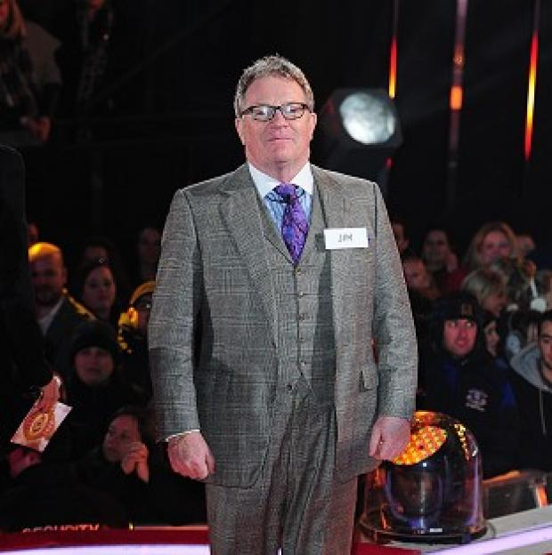 This Is Local London: Jim Davidson arrives at the Celebrity Big Brother House