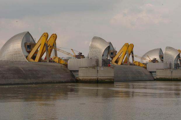 The Thames Barrier will be closed from around 3pm until 7.30pm today (Jan 6).