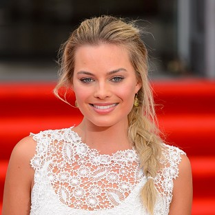 Margot Robbie plays Leonardo DiCaprio's love interest in The Wolf Of Wall Street