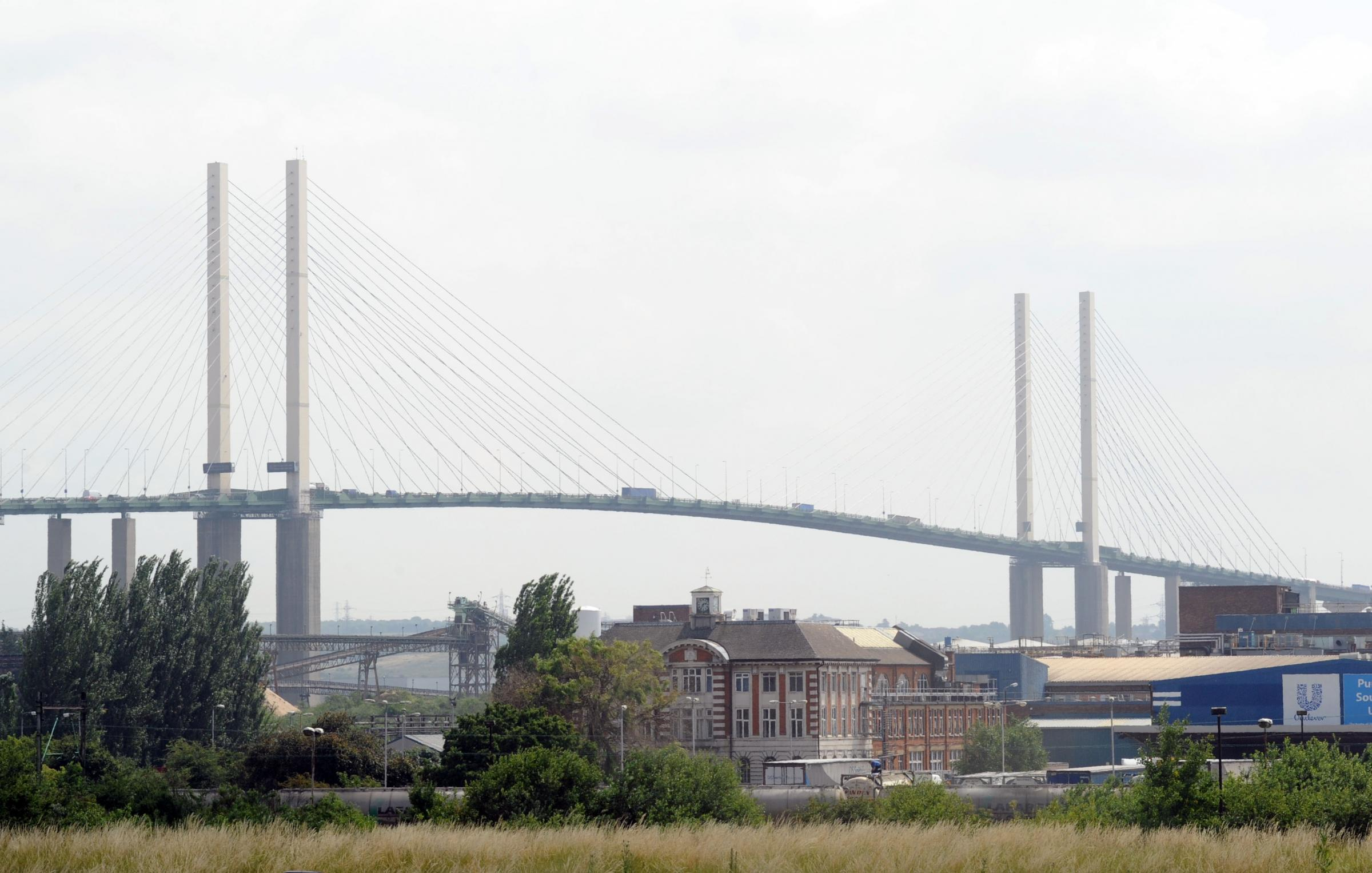 Disagreements over Dartford Crossing after thousands get stranded in high winds