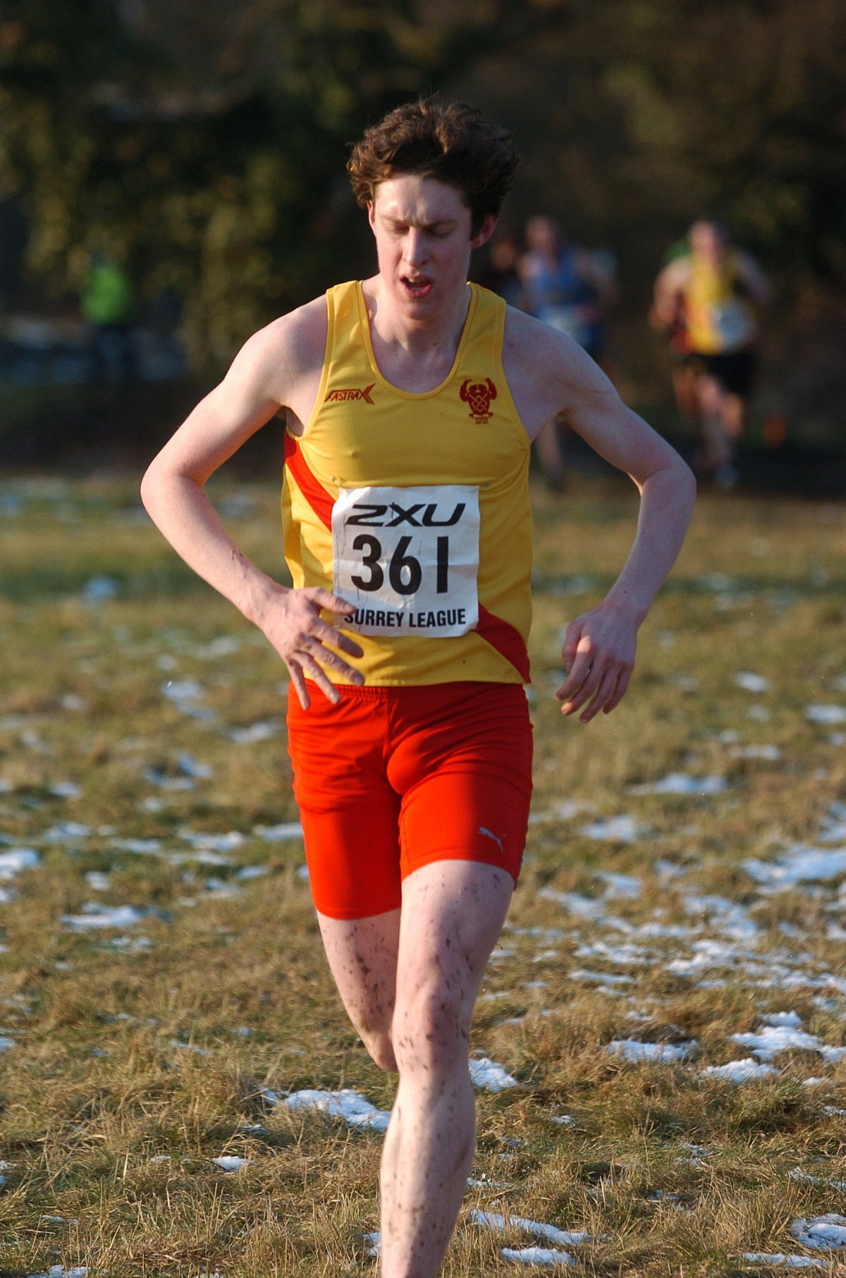 Keep on running: Liam White in action for Hercules Wimbledon            SP63616