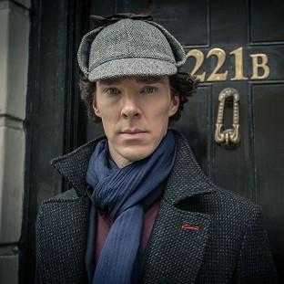 This Is Local London: Benedict Cumberbatch plays Sherlock Holmes (BBC)