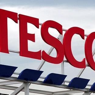 Tesco said like-for-like sales were down 2.4