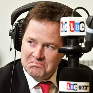 Nick Clegg said Boris Johnson should focus on his day job, rather than throwing around insults