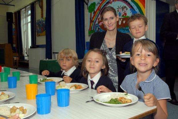 All smiles here: But why aren't parents taking up free meals?