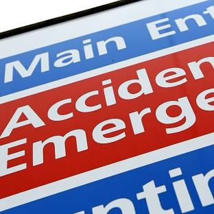 Figures indicate a fall in the number of patients seen within four hours at accident an