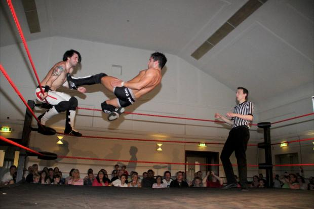 Get ready to rumble with wrestlers in Wallington