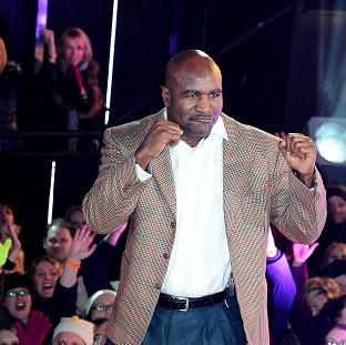 This Is Local London: Evander Holyfield is evicted from the Celebrity Big Brother House
