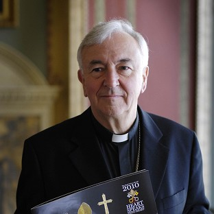 The Archbishop of Westminster Vincent Nichols says his appointment as cardinal is 'humbling'