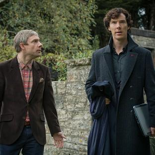 Holmes and Watson return in the hit BBC1 drama Sherlock