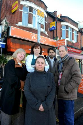 Business owners in Merton Park have complained of a lack of parking in Kingston Road