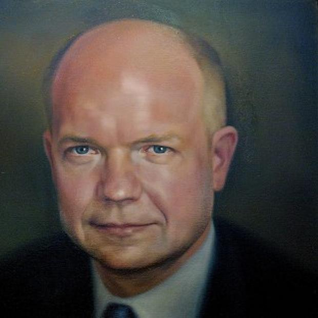 This Is Local London: William Hague's portrait cost �4,000 to commission