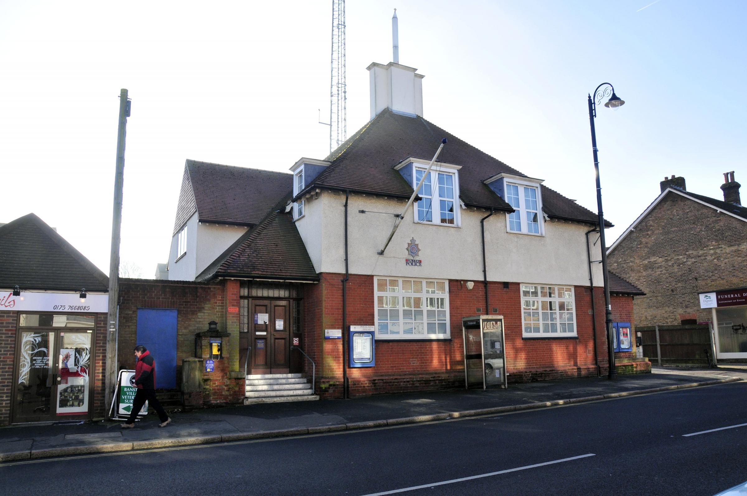 The former police station in Banstead High Street