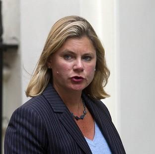 Justine Greening has highlighted the plight of Syrian civilians.