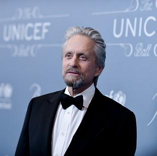 Michael Douglas was honoured at the Unicef Ball