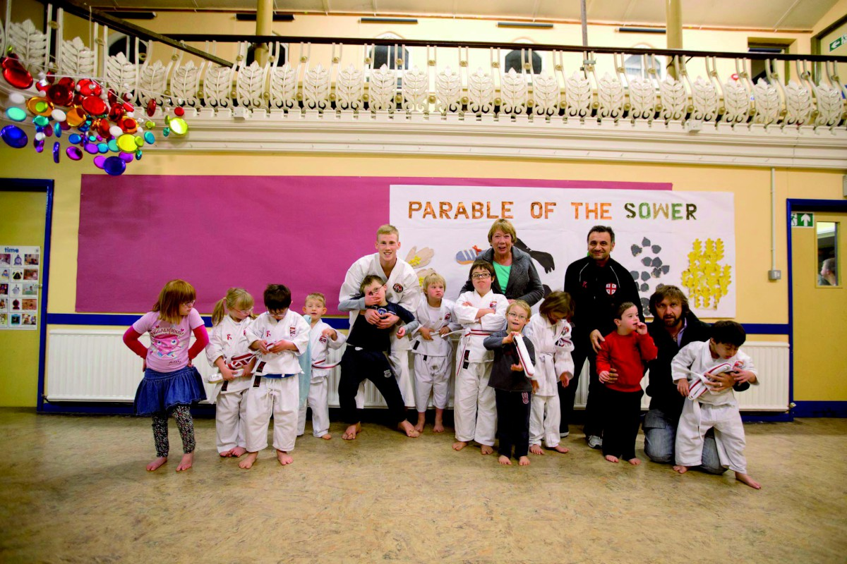 Belters: The youngsters at Abel Karate